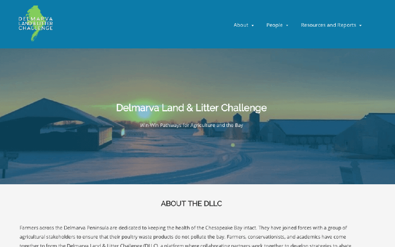 dllc website homepage